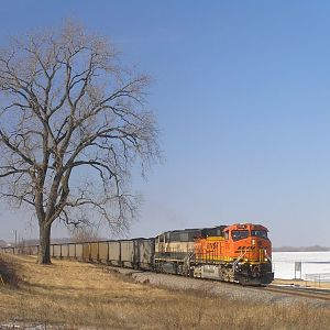 Eastbound Coal at Clarksville