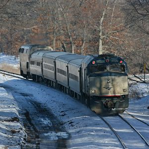 Amtrak Blue Water - Wolverine southwest Michigan