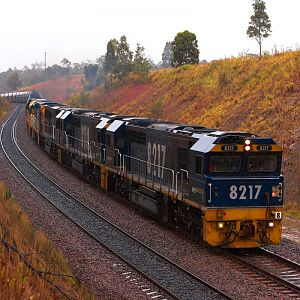 Hunter Valley Coal Traffic, Australia