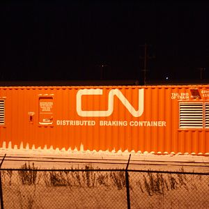 distributive braking container