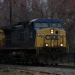 CSXT in the morning