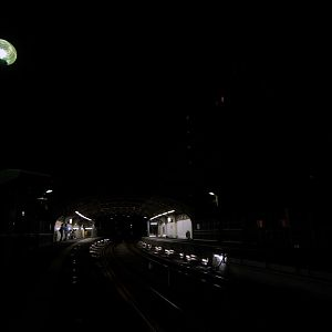 JR East, Kokudo station at night