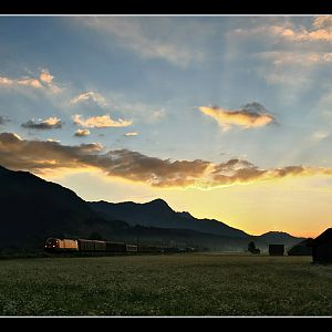Enns Valley Sunrise