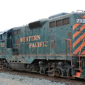 Western Pacific GP7 #713