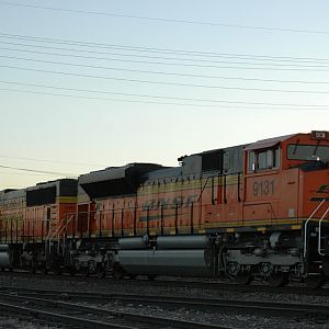 Dusk on the Joint line With BNSF