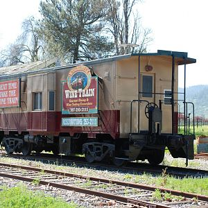 Napa Valley Wine Train Caboose