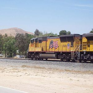 Westbound in Caliente