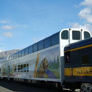 Eagles Soar & Grizzlies Prowl on Alaska Railcars