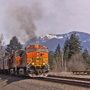 BNSF GE smokin' it up!!!!