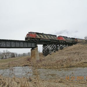 CN Valley Rriver Bridge
