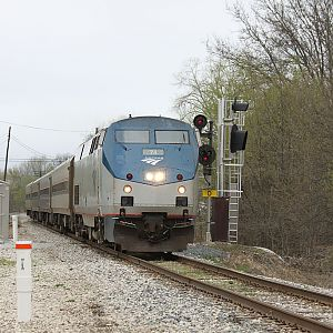 Amtrak Pere Marquette 370 Porter, IN