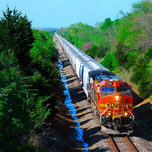 Westbound BNSF Re-route