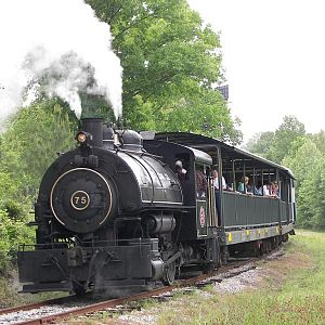 Flagg Coal 75 On The Calera & Shelby Railway In Alabama