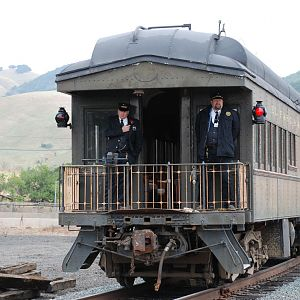 Conductor and Brakeman of the SP 2472