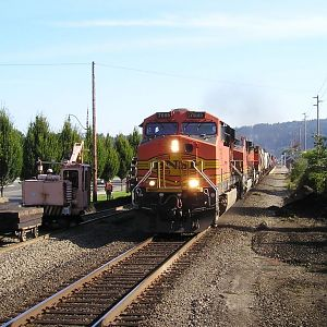 Southbound Freight