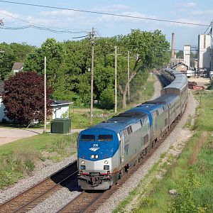 Empire Builder at Columbus
