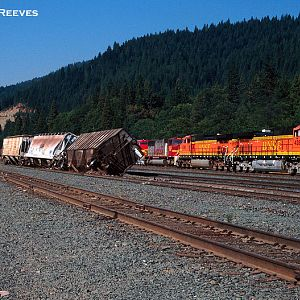 Oops in the Dunsmuir yard