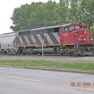CN Brandon Yard on Monday