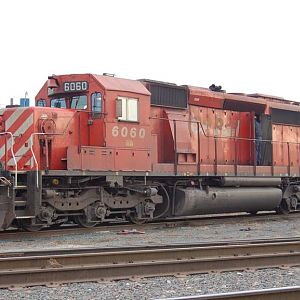 Canadian Pacific SD40-2 #6060