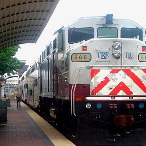 TRE 568 at Dallas Union Station