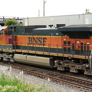 BNSF 997 at Mukilteo, WA