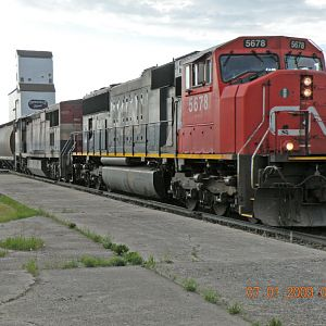 CN 853 at Gilbert Plains