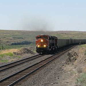 Eastbound Coal Train at Mohler