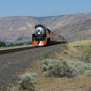 SP 4449 east of Towal, WA
