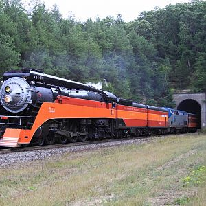 Steam Trains in the Midwest