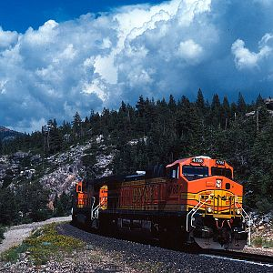 Thunderclouds at Yuba Pass