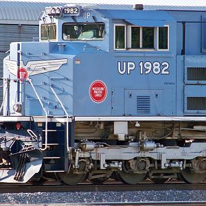 EMD SD70Ace UP 1982