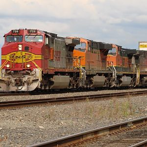 High Priority Freight at Mukilteo