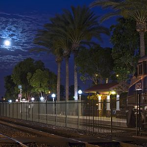 Moon Light at Fullerton