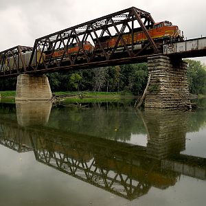 CSX crossing the Wabash River
