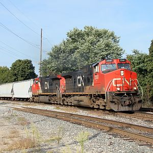 CN #2581 in South Bend, IN