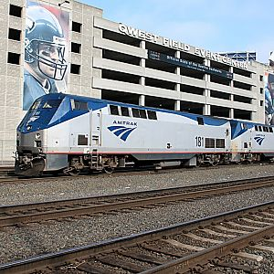 Amtrak King St. Yards Seattle
