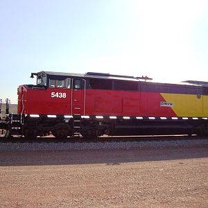 DMVW SD50F's in south-central Montana