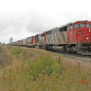 CN 853 at Dutton, Manitoba