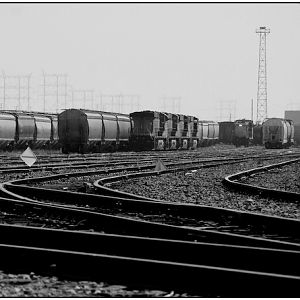Los Angeles Junction Railway - A Yard