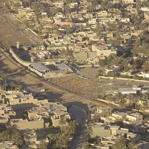 Iraqi Train Yard from Helicopter View