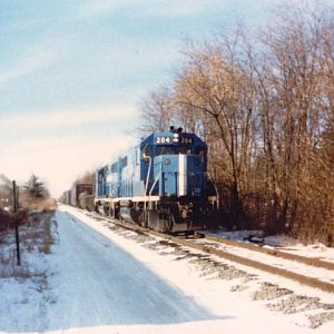 B&M eastbound through Scotia