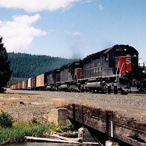 SP at Crescent Lake in 1994