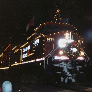 2003 CP Holiday train