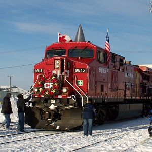 2007 CP Holiday train