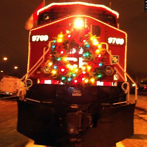 2004 CP Holiday train