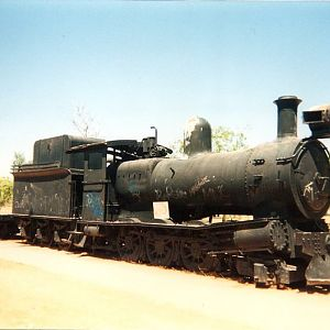 Katherine, NT Train