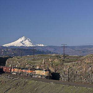 Morning At North Dalles