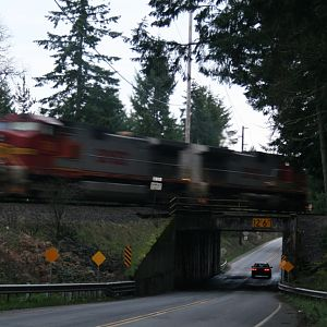Tearing towards Tenino