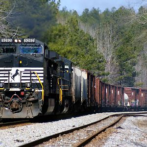 NS 335 At Trammells Hill In Alabama