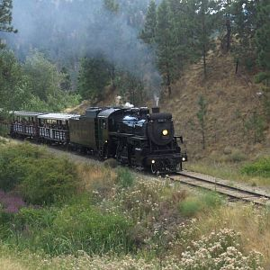 3716 on the Kettle Valley